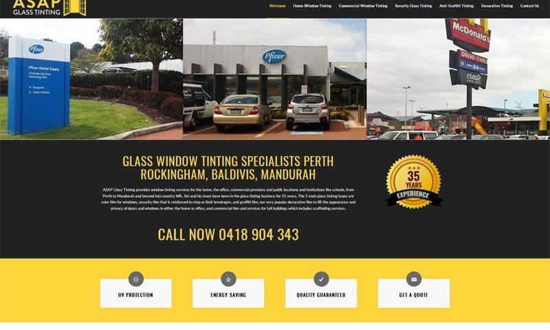 asap-glass-tinting-website-design