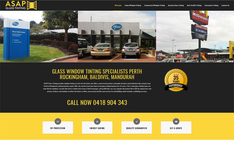 asap-glass-tinting-website-design