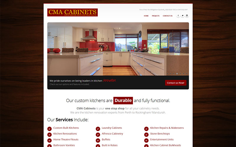 cma-cabinets-website-design