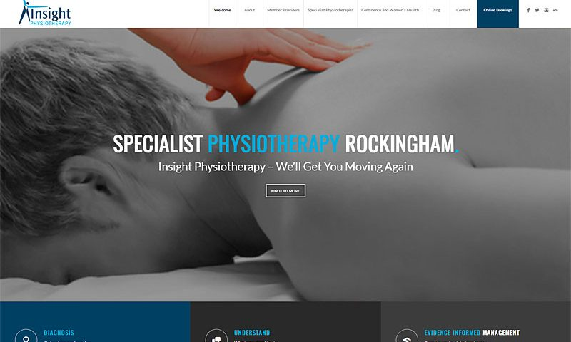 insight-physiotherapy-rockingham-website-design