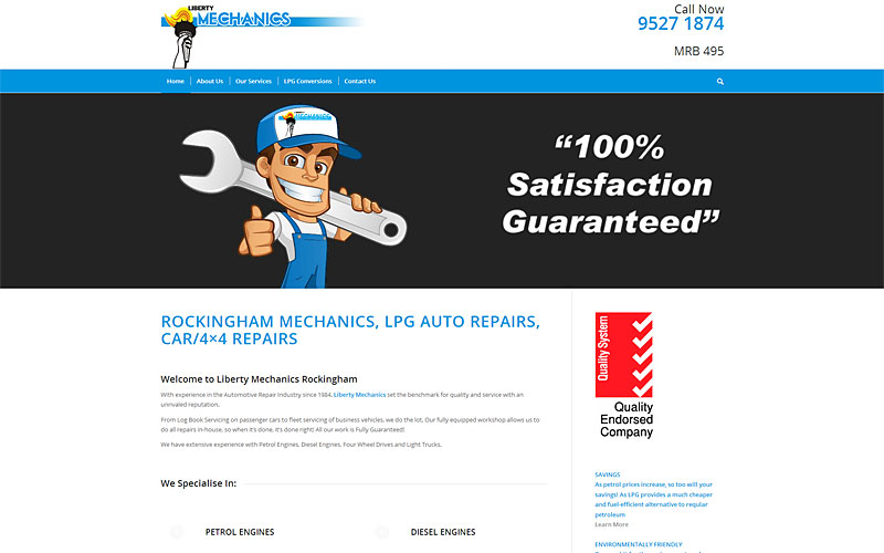 liberty-mechanics-website-design