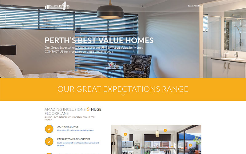 shelford-first-homes-website-design