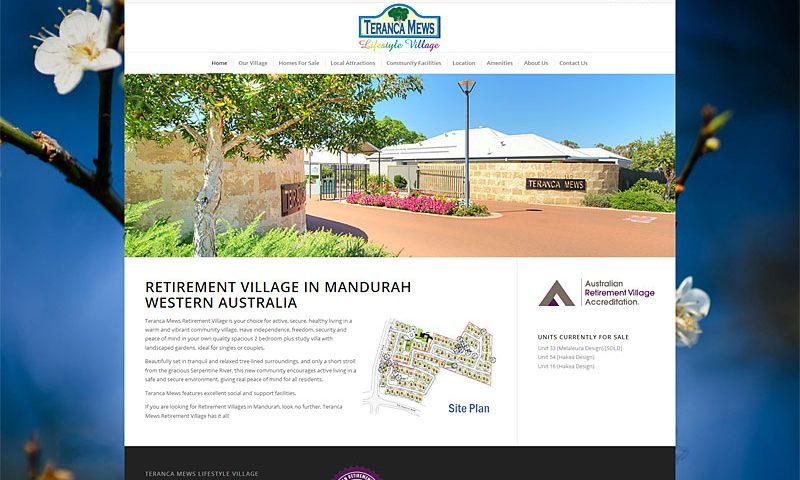 teranca-mews-lifestyle-village-website-design