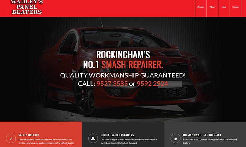 wadleys-panel-beaters-rockingham-website-design