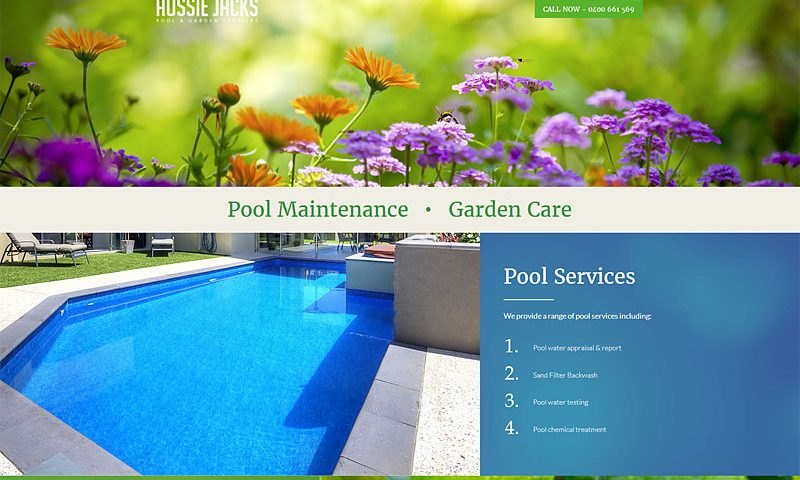 aussie-jacks-pool-garden-website-design