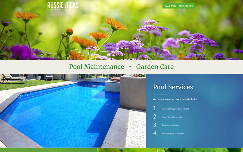 aussie-jacks-pool-garden-website-design