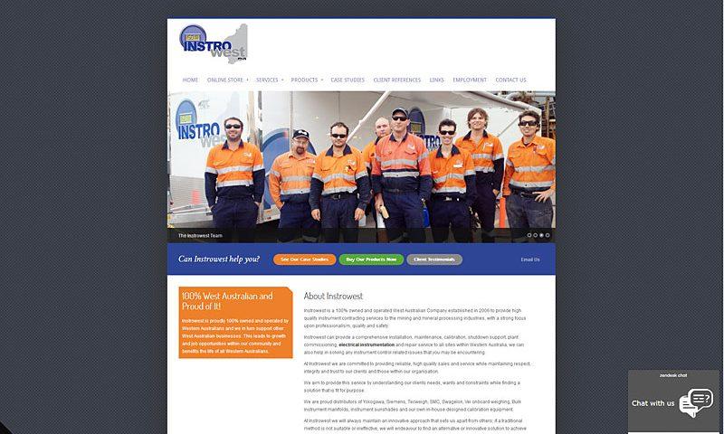 instro-west-website-design