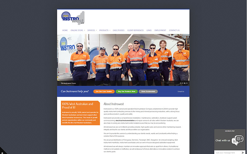 instro-west-website-design