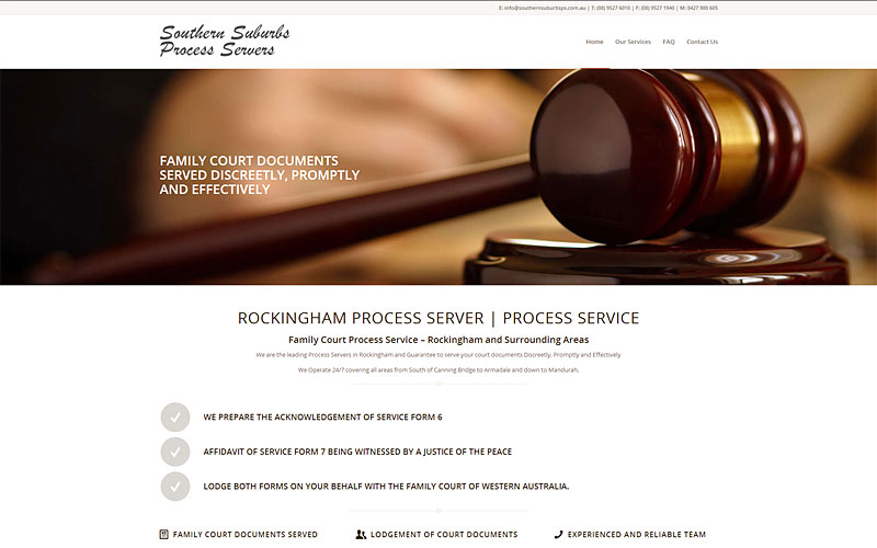 southern-suburbs-process-servers-website-design