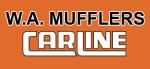 WA Mufflers Carline Logo