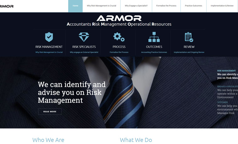 armor-risk-management-website