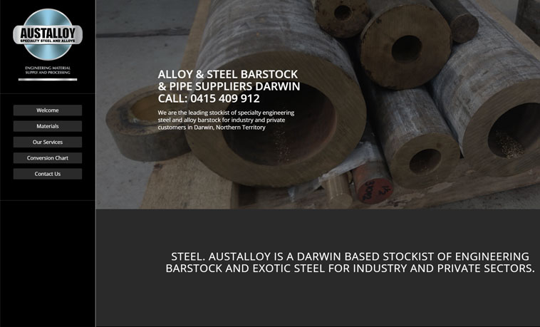 austalloy-website