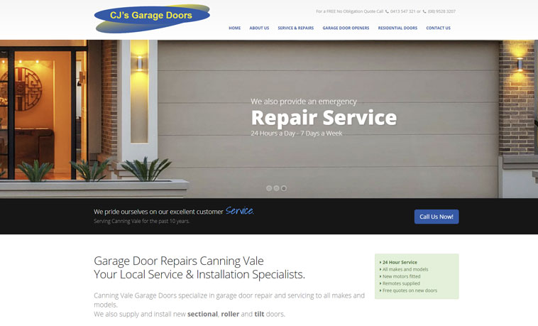 cj-garage-doors-website