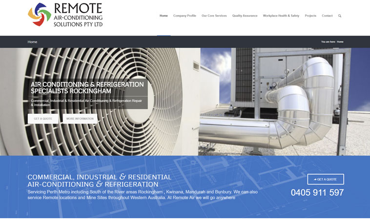 remote-air-solutions-website
