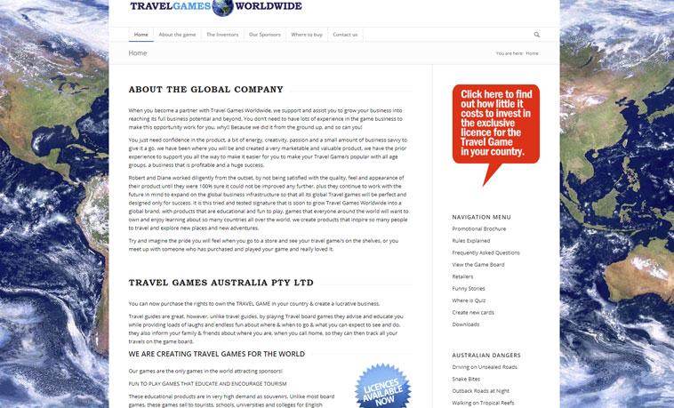 travel-games-website