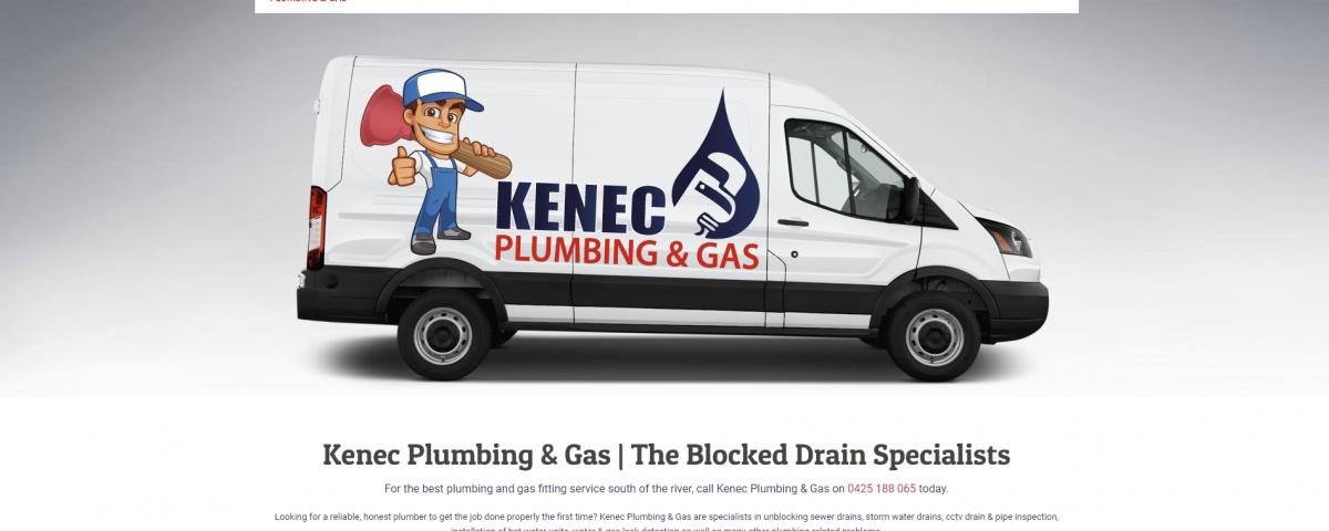 kenec-plumbing-and-gas-website