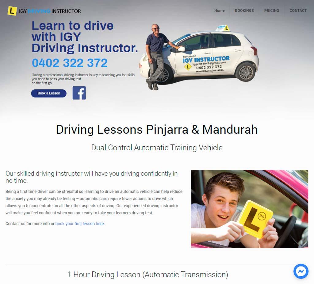IGY Driving Instructor - Driving School in Pinjarra & Mandurah WA